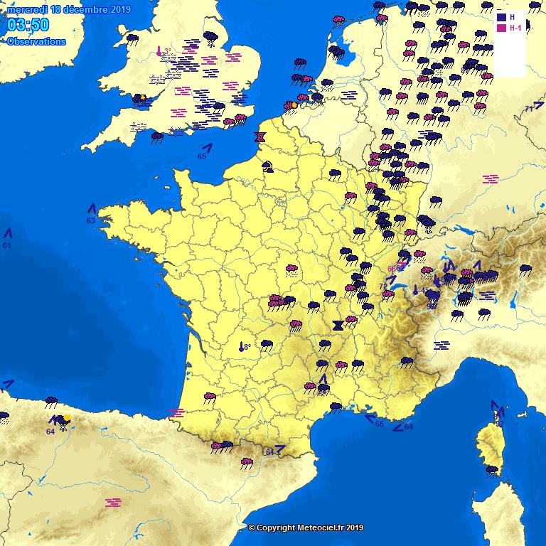 Meteociel Observations Météo En Temps Réel En France