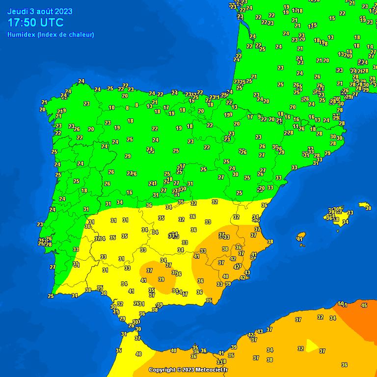 mapa de precipitaciones en españa