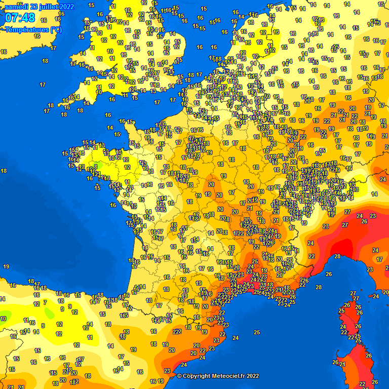 temperatures meteo 05