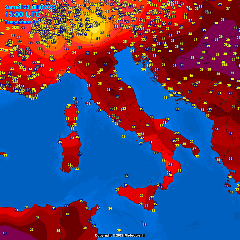Temperature in tempo reale Italia Temp_it