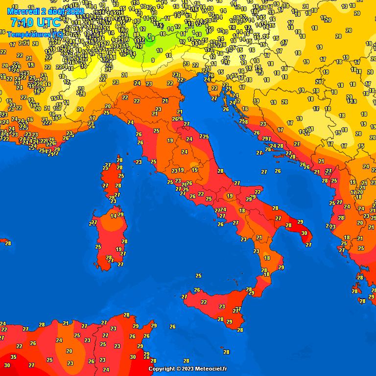 Temperature - Gaia in Cam