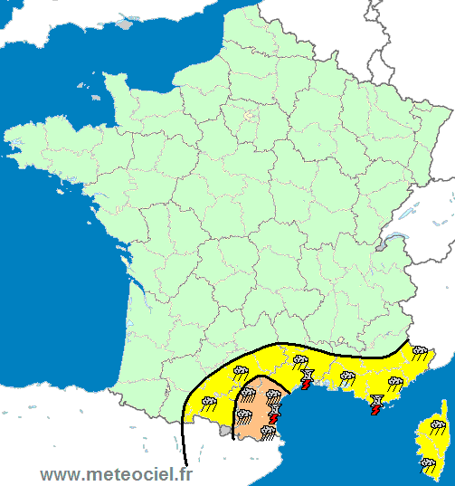 Meteociel actualit episode pluvieux sur le languedoc for Meteociel carcassonne