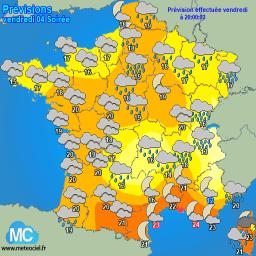 Meteociel Prévisions Météo Pour Brest 29200 Météo
